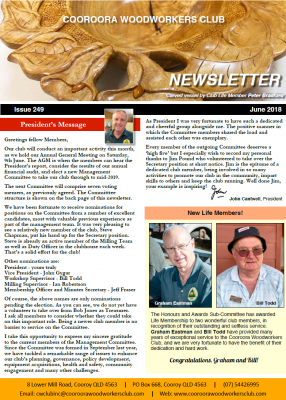 Newsletter Issue 249