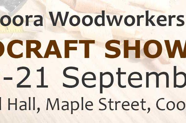 Cooroora Woodcraft Show 2019