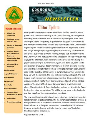 Newsletter Issue 262